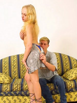 Sweet Blonde Rosebud Shudders On A Huge Cock Sweet pics