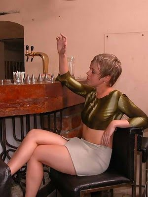 Dirty Lesbians Get Caught By A Lusting Barman