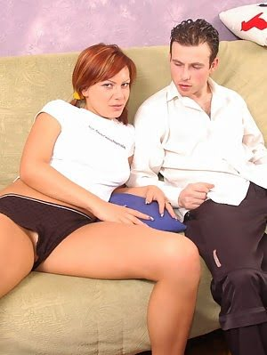 Redhead Chick Screams From Hard Penetration
