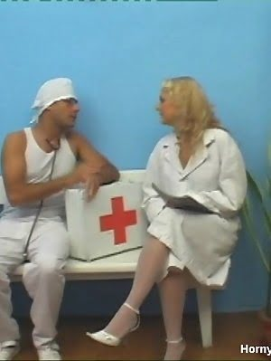 Pretty Nurse Is Seducing Horny Doctor