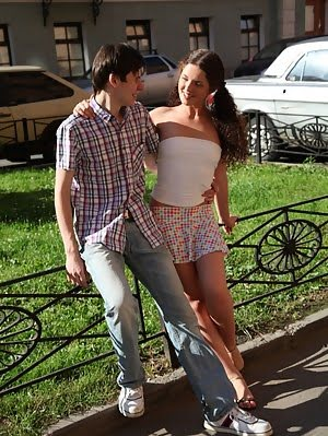 Brunette Tory Got Drilled From Behind.