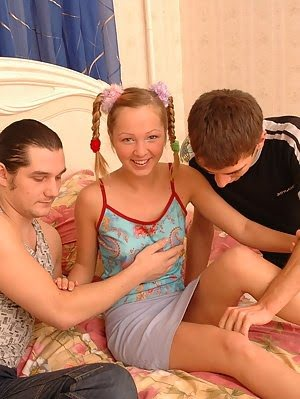 Lustful Rosebud Gets Hardly Drilled In Two Ways porn pics