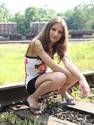 A Seductive Teen Like Her Is Sure To Cause More Than A Few Boners To You As She Shows And Strips Off Strips pics