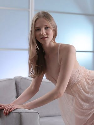 This Stunning Teen Doll Spreads Her Long Legs Wide And Reveals Her Wonderful Teen Pussy In A Way Tha