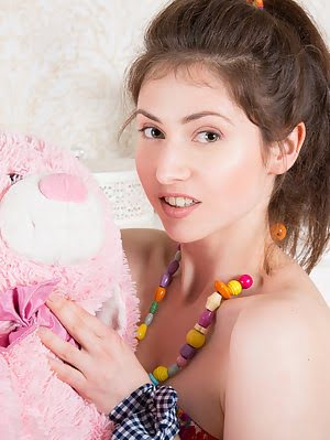 Playing Some Naughty Games Is Something That This Amazing Teen Doll Is Good At And She Goes All Out Goes pics