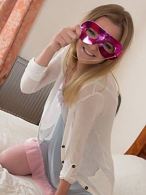 She Has The Tightest Teen Pussy Around The Block, So She Shows It Pink Colors To Everyone Who Wants