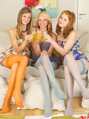 Hot Teen Girlfriends Enjoy The Passionate And Naughty Game. Love Is Unleashed, The Room Is Filled Wi