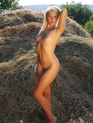 This Astonishing Nude Angel Decided To Loll About Just On The Fresh Hayloft And To Tease Her Marvelo Decided pics