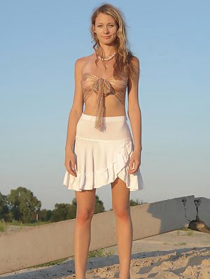 Beautiful Blonde Teen Looks Like An Angel Here And You Cant Help Confessing This Facts Being True. Angel pics