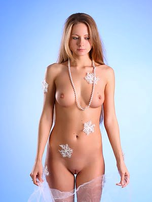 Sexy Teenager Strikes Some Unusual Poses And Shows Us Her Snowflake Body And Shaved Pussy. Shows pics