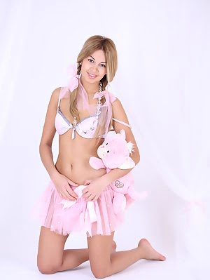 Fantastic Sexy Teen In Short Pink Skirt Shows Her Shaved Cunt In Front Of The Camera. Shows pics
