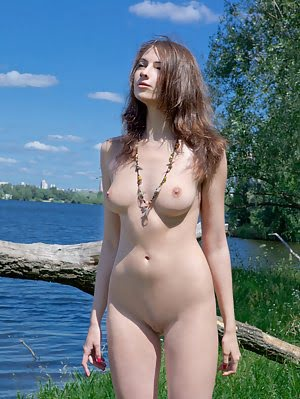 Adorable Teen Babe Wearing Nothing But A Necklace Shows Off Her Perfect Tits And Pussy. Perfect pics