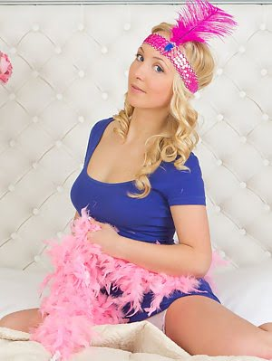 Going Back In Time To The Lusty Twenties Always Can Bring Joy With Fun In Love Affair. Slim Beauty W