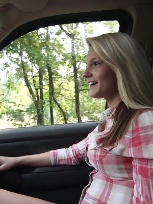 Hope Harper Barters For A Ride By Peeling Off Her Clothes And Sucking And Fucking Her Man Until They Clothes pics