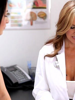 Doctor Julia Ann And Sandra Luberc Use Their Creamy Pussies And Talented Mouths In A Raunchy Lusty T Sex pics