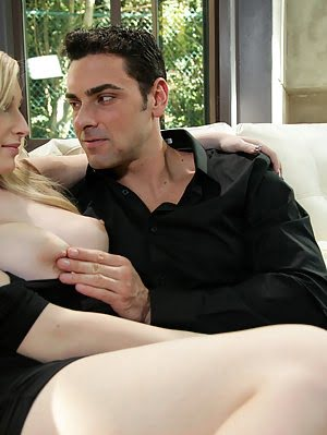Join Blonde Babe Stacie Jaxxx As She Fucks Her Man And Then Takes His Big Dick Between Her Big Perky