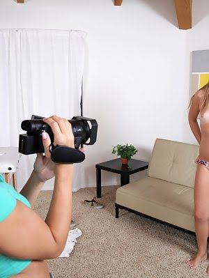 Cassidy Klein Interviews Redhead Kaylee Haze And Then Helps Her Get Naked So They Can Have A Three W Fuck pics