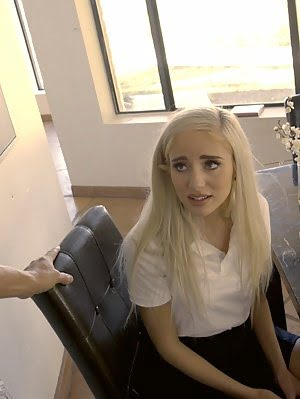 Naomi Woods Is In Trouble For Not Doing Her Homework And The Punishment Is A Spanking And A Bald Pus Bald pics