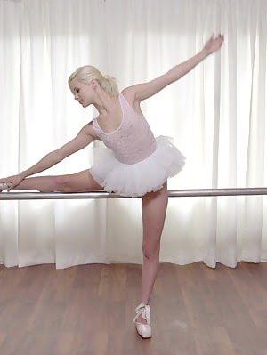 Tiny Blonde Teen Elsa Jean Gives Her Ballet Instructor A Stiffie Ride As He Fucks Her Little Bald Pu Sex pics
