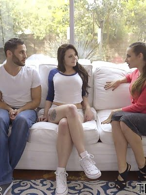 Cassidy Klein Visits Megan Sage And Damon Dice To Discuss The Details Of A School Dance, But Soon Th Dice pics